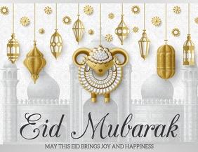 Eid Mubarak ,Ramadan. Chand raat Flyer (US Letter) template