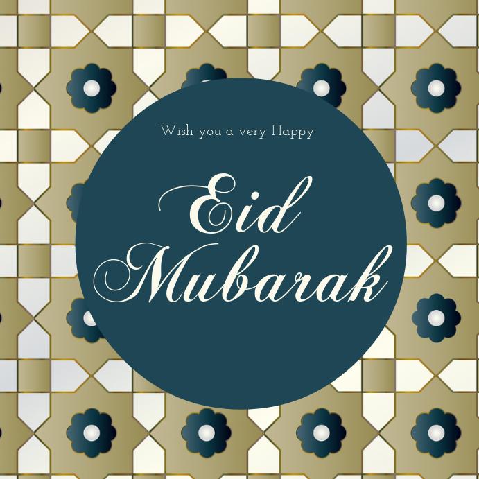 eid mubarak cards template  postermywall