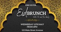 Eid mubarak brunch Isithombe Esabiwe ku-Facebook template