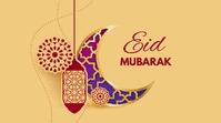 Eid Mubarak Twitter Post template