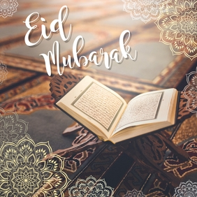 Eid Mubarak Facbook Post Template