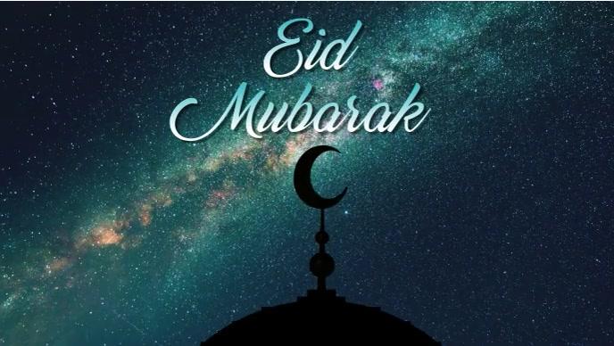 Eid Mubarak Facebook Cover Template
