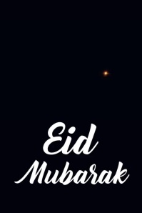 Eid Mubarak Poster template