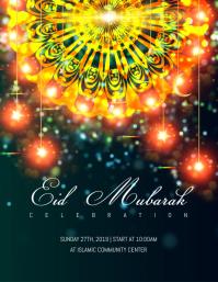 Customizable design templates for eid mubarak postermywall eid mubarak flyer m4hsunfo