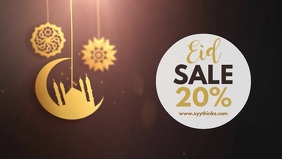 Eid Mubarak Sale Ramadan Advert Video Cover