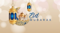 Eid Mubarak wishes Twitter Post template