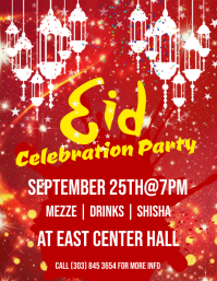 Eid Party Flyer
