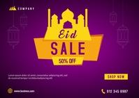 Eid Sale Banner Template Kartu Pos