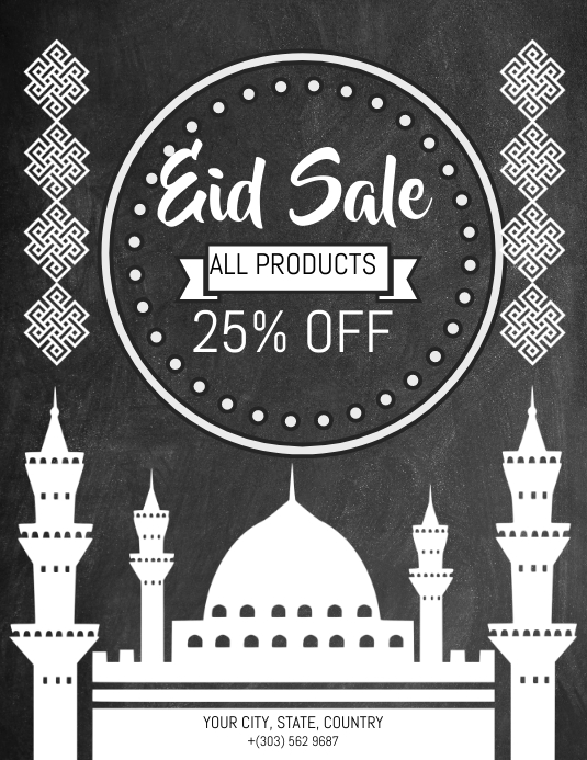 Eid Sale Flyer