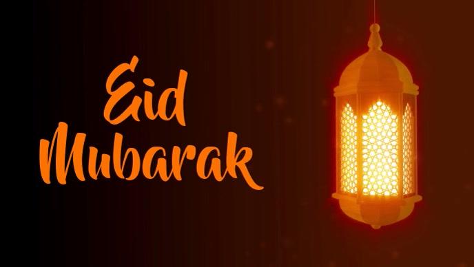 eid template Facebook Cover Video (16:9)