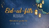 Eid template Header Blog