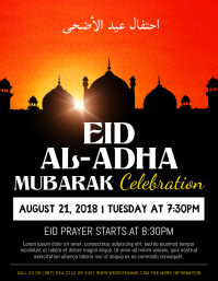 Eid ul Adha Celebration Event Flyer Template