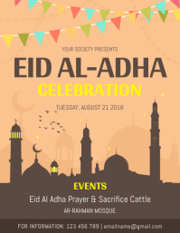 Eid ul Adha Event Flyer Template