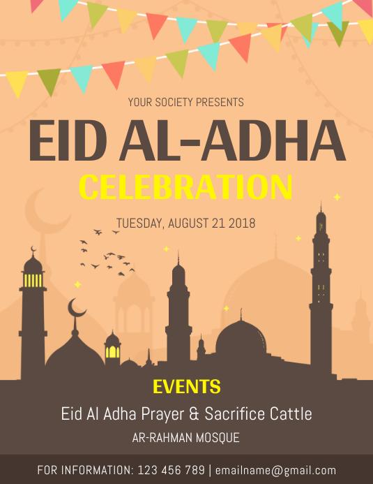 Eid ul Adha Event Flyer Template