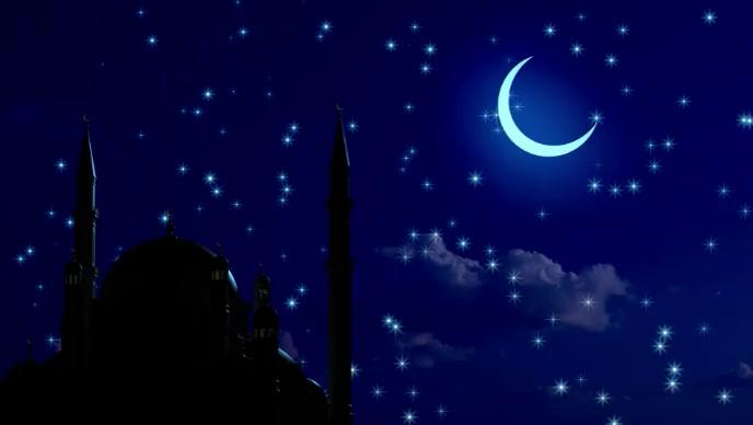 Eid ul adha moon light video YouTube-miniature template