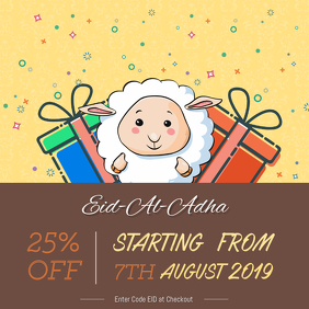 Eid ul Adha Sale Instagram Post Template