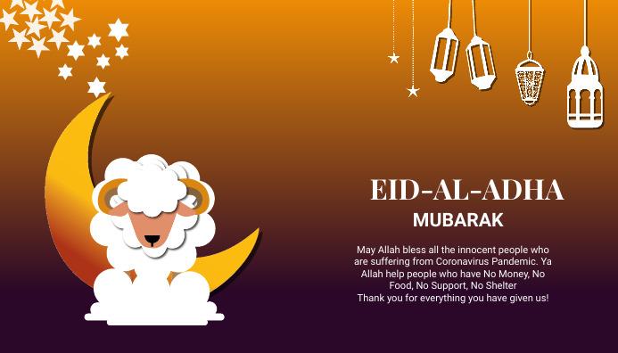 Eid ul adha wishes Blog Header Post template
