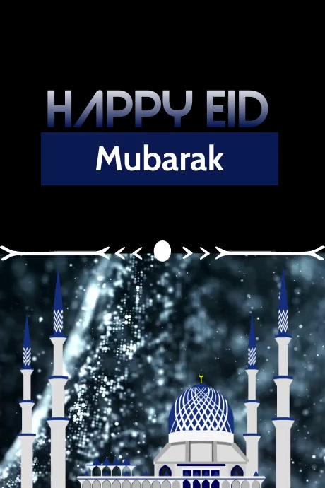 EID Video Template Poster