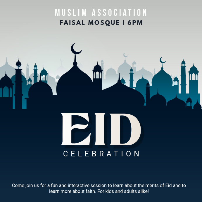 Eid poster templates postermywall thecheapjerseys Image collections