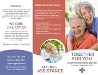 elder and senior's nursing and care center ag Flyer (US Letter) template