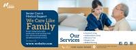Elder Care Service Ad Couverture Facebook template