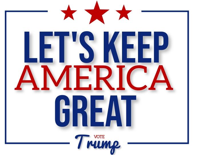 ELECTION 2020 VOTE TRUMP POSTER DESIGN 海报/墙板 template