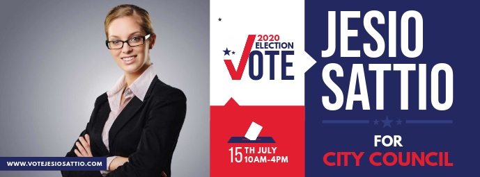 Election Campaign Facebook Cover