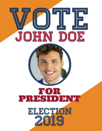 Election flyer