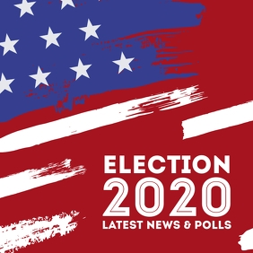 Elections 2020 blog header america president