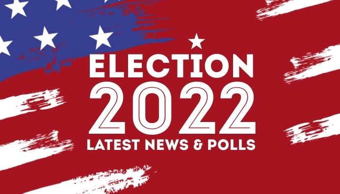 Elections 2020 blog header us president color Blog-Kopfzeile template
