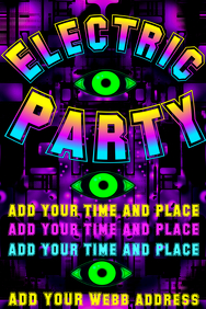 Electric Party - with green eyes