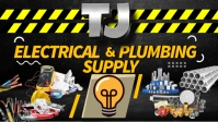 Electrical And Plumbing Facebook 封面视频 (16:9) template
