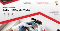 Electrical service Image partagée Facebook template