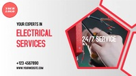 Electrical Services Pantalla Digital (16:9) template