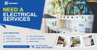 Electrical Services Facebook Shared Post template