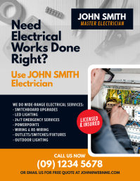 Electrical Services Flyer