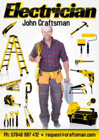 Electrician Business Flyer