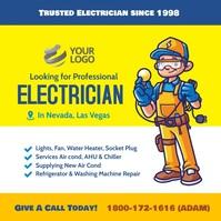 Electrician instagram template