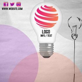 ELECTRICITY LOGO FLYER DESIGN FREE TEMPLATE