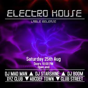 Electro House instagram Post