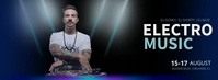 ELECTRO MUSIC DJ Facebook Cover Video template