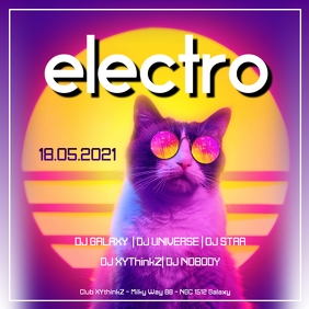 Electro Party Music Event Club Bar Promo
