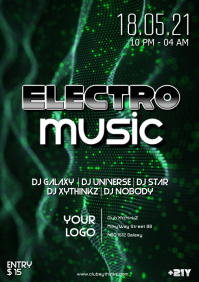 Electro Sound Electronic Music Event Party Goa Psychedelic