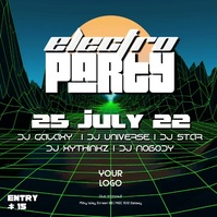 Electro Sound Electronic Music Party Goa Psychedelic forest