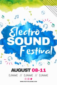 Electro Sound Festival Poster