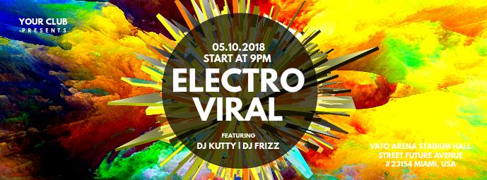 Electro Viral Facebook Cover