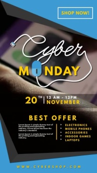 Electronics Sale Cyber Monday Digital Display