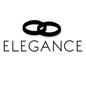 Elegance black and white logo