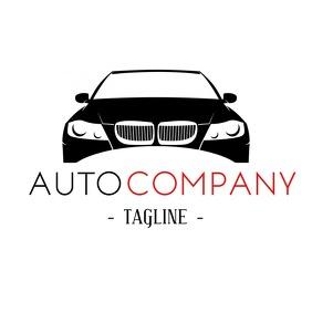 Elegant and Modern Auto Company logo
