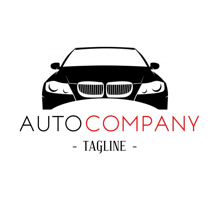Elegant And Modern Auto Company Logo Template Postermywall